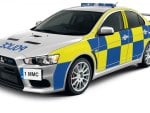 Lancer Evolution  Uk police car