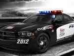 Dodge police racing car