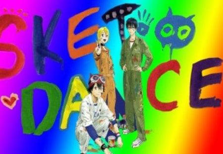 sket dance - switch, himeko, sket dance, anime, bossun
