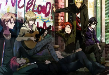 we were together - k project, anime, wallpaoer, other