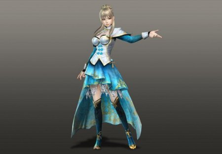 Wang Yuanji - games, female, wang yuanji, cg, skirt, video games, dynasty warriors, girl, lone, yuanji wang