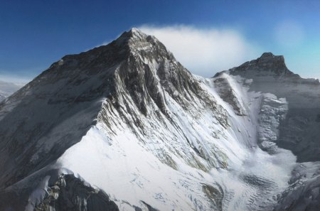 Mount Everest Mountains Nature Background Wallpapers On