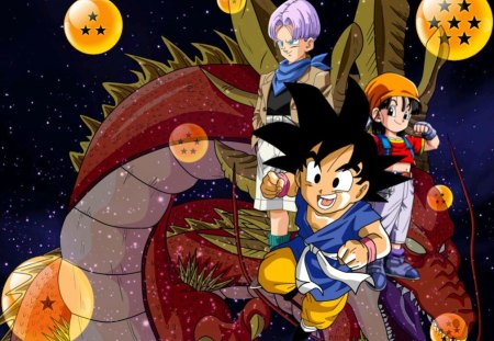 Dragon Ball Gt Dragonball Anime Background Wallpapers On