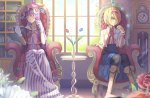 Alice Margatroid & Patchouli Knowledge