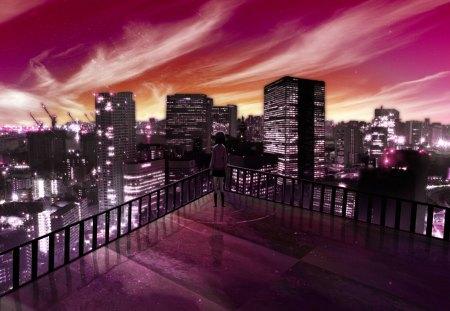 Night City Other Anime Background Wallpapers On Desktop Nexus