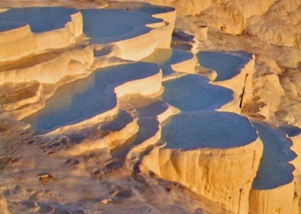 Pamukkale Turkey - mineral, water, springs, cliffs