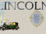 1926 Lincoln Brun Cabrolet Ad