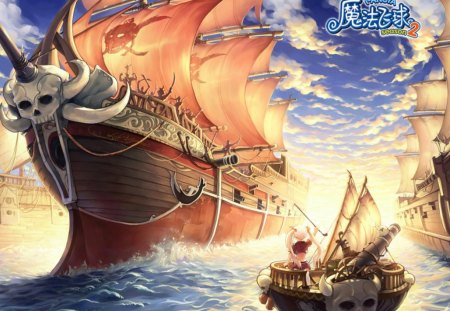 Pangya other anime background wallpapers on desktop - Anime pirate wallpaper ...