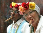 *** Cuban cigar smokers ***