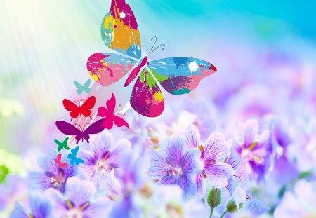 Profumo di primavera flowers nature background for Immagini desktop primavera