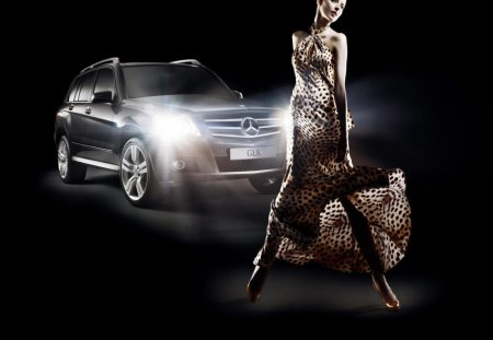 mercedes benz dress - benz, mercedes, dress, car