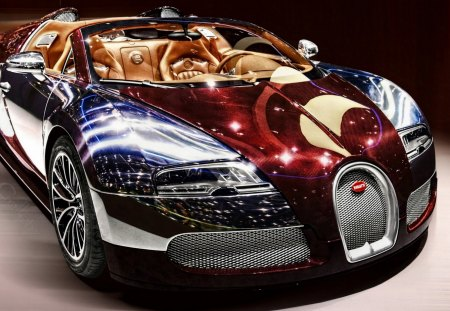 Bugatti Veyron - bugatti, beauty, colours, hdr, veyron, sports, fast