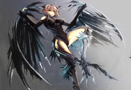 Wings of Death - Other & Anime Background Wallpapers on