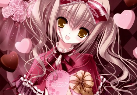 Happy Valentine Day Other Anime Background Wallpapers On Desktop