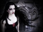 **CROW GOTHIC GIRL**