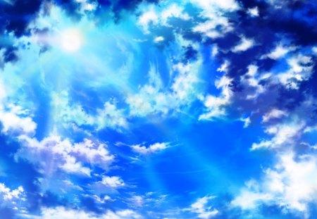 Anime Sky Other Anime Background Wallpapers On Desktop Nexus Image 1350172