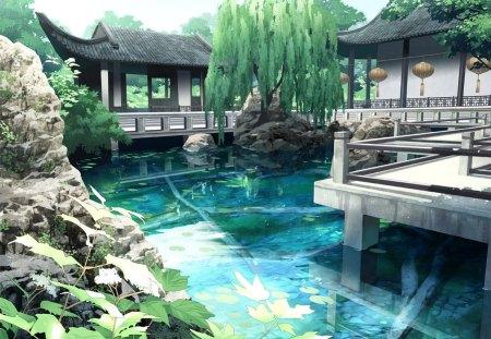 Anime Japanese Garden Other Amp Anime Background