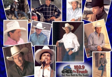 the king of country music - strait, country, george, music