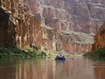 rafting on the colorado river in grand canyon