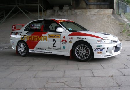 Mitsubishi Lancer Evo 4 - thrill, Rally, ride, car