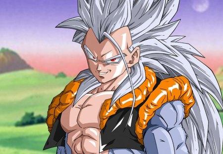 super saiyan 5 gogeta dragonball anime background wallpapers on