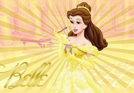 Belle Disney Princess Wallpaper Movies Entertainment Background Wallpapers On Desktop Nexus Image 1352270