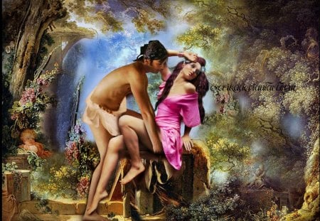 Romantic Of Love Fantasy Abstract Background