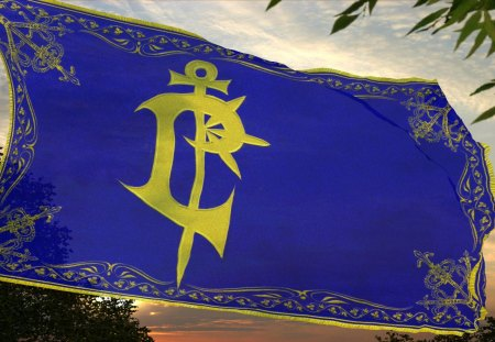 Flag of Lordaeron - Lordaeron, World of Warcraft, warcraft, Alliance, alliance, lordaeron, Flag, wow, WoW, Warcraft 3, Warcraft