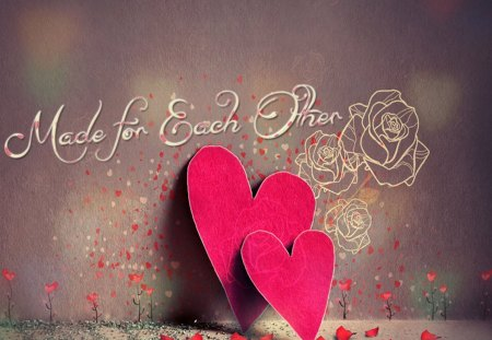 Wallpaper Love Each Other : Made for each other - Other & Abstract Background Wallpapers on Desktop Nexus (Image 1356946)