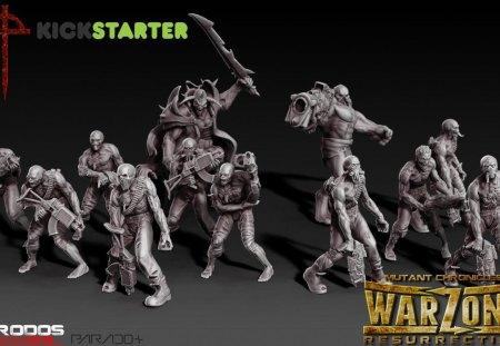 Warzone Resurrection Legion - wargaming, 28mm, tabletop, warzone resurretion