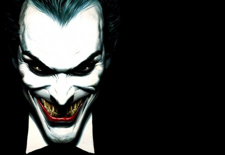 The Joker - clown, batman, the joker, sadistic villain