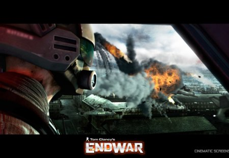 Tom Clancy's Endwar pilot's view - pilot, endwar, tom clancy, tactical game