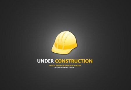 Under Construction Windows Technology Background