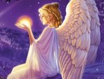 Angel Holding Light Of Truth
