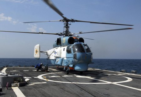 Anti-submarine warfare helicopter k-27 - war, ship, anti, helicopter