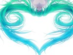 miku hair heart