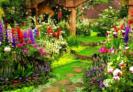 Superb Flower Garden