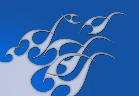 Fire Blue Graffiti Abstract Background Wallpapers On Desktop Nexus Image 1361814