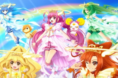 Over The Rainbow Anime Love And Romance Wallpapers And