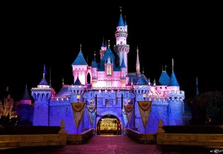 Disneyland Amusement Parks Architecture Background Wallpapers On Desktop Nexus Image 1365104