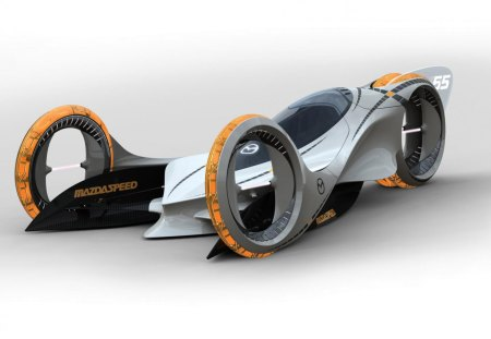 The Future Car Concept Mazda Cars Background Wallpapers On