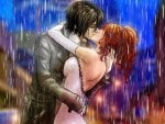 love rain bleach kissing inoue orihime orihime drawings anime 1920x12
