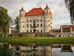 lovely wojnowice castle in poland