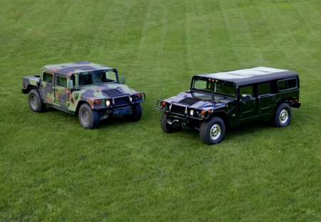 humvee - humvee, green, grass, car