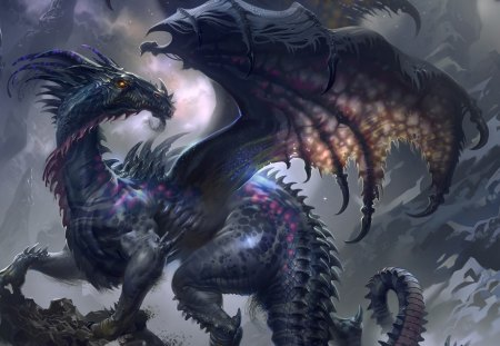 MYSTICAL DRAGON - MYSTICAL, DRAGON, WINGS, REPITLE