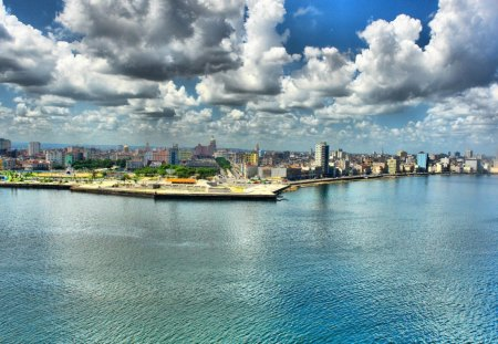 Havana Cuba Houses Architecture Background Wallpapers On