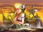Mermaid literally sink ships