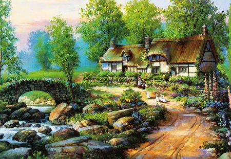 cottage fantasy arts wallpapers and images desktop
