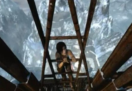 Tomb Raider Tower - croft, lara, tomb, tower, raider