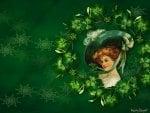 Vintage Irish Miss
